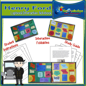 Henry Ford Lapbook