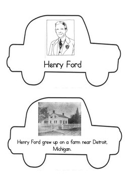 Henry Ford Mini-Book