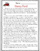 Henry Ford Reading Passage and Comprehension Activities