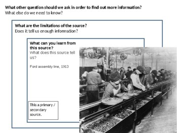 Henry Ford Source Aanalysis Activity on Mass Production