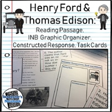 Henry Ford and Thomas Edison Reading Passage