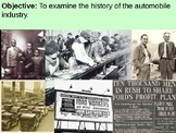 Henry Ford and the Automobile Industry PowerPoint Presentation