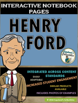 Henry Ford's Interactive Notebook Pages
