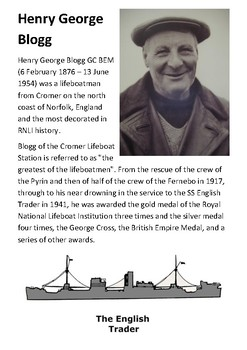 Henry George Blogg and the Royal National Lifeboat Institution (RNLI) Handout