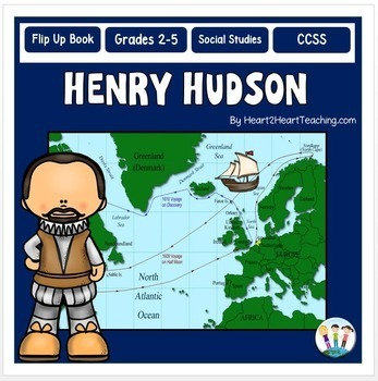 Early Explorers - Henry Hudson Unit with Articles, Activit