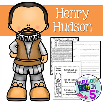 Henry Hudson: Nonfiction Text and Foldable