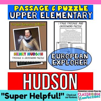 Henry Hudson Reading Passage: Biography: Comprehension Cro