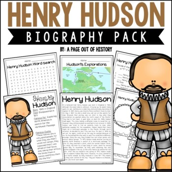 Henry Hudson Biography Pack (New World Explorers)
