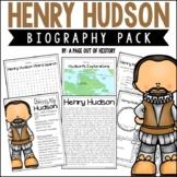 Henry Hudson Biography Pack (New World Explorers)
