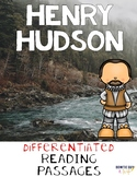 Henry Hudson {Differentiated Reading Passages & Comprehension Questions}