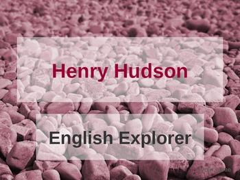 Henry Hudson Explorers PowerPoint
