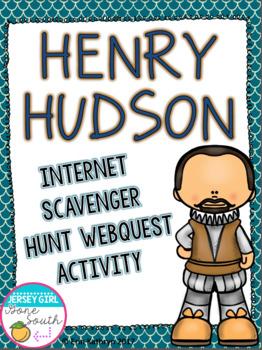 Henry Hudson Internet Scavenger Hunt WebQuest Activity