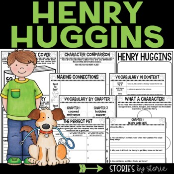 Henry Huggins Book Questions and Vocabulary