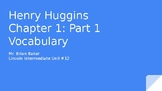 Henry Huggins Chapter 1 Vocabulary Powerpoint
