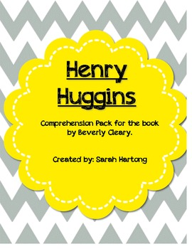 Henry Huggins {Comprehension Pack}