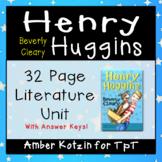 Henry Huggins Literature Guide (Common Core Aligned)