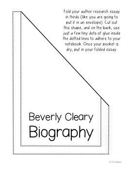 Henry Huggins by Beverly Cleary Interactive Notebook Novel Unit Study Activities
