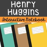 Henry Huggins by Beverly Cleary Interactive Notebook Novel