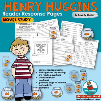 Henry Huggins | Book Companion | [Reader Response Pages]