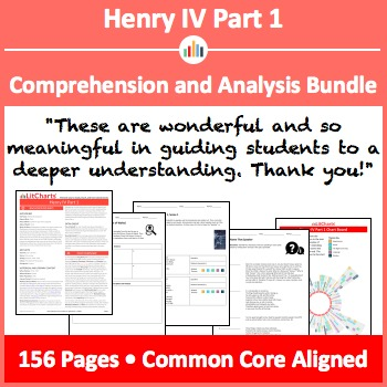 Henry IV Part 1 – Comprehension and Analysis Bundle