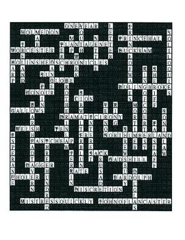 Henry IV, Part I Crossword