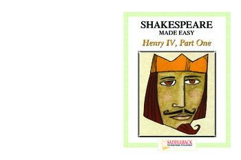 Henry IV Reading Guide (Shakespeare Made Easy)
