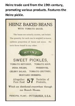 Henry John Heinz Handout