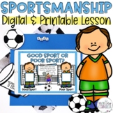 Henry Learns About SPORTSMANSHIP: Story, Scenarios Sorting Mat Game, and more!
