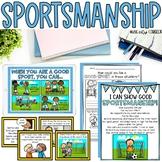 SPORTSMANSHIP: Story, Scenarios Sorting Mat Game, Posters, and More!