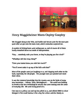 """""""Henry Maggleheimer Meets Oophty-Goophty"""" [A Short Story]"""