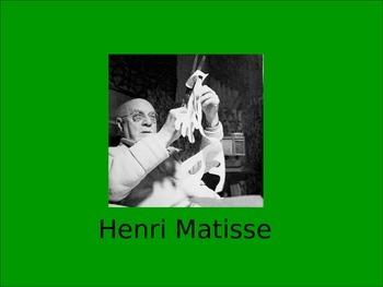 Henry Matisse artwork references