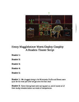 """""""Henry Meets Oophty-Goophty"""" A Readers Theater Script [The"""