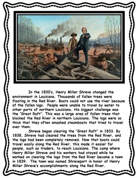 Henry Miller Shreve Informational Text and Graphic Organizers