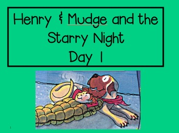 Henry & Mudge and the Starry Night 2nd Grade Reading Street Powerpoints