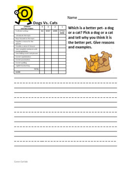 Henry & Mudge Bundle Pack - Books #1-10 Q & A Sheets + Writing Prompts