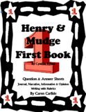 Henry & Mudge -First Book -Question & Answer Sheets + Writing Activities