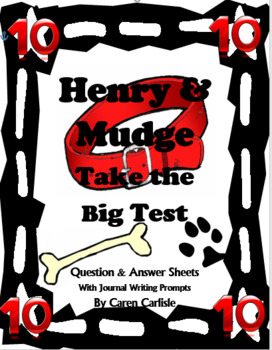 Henry & Mudge Take the Big Test - Question & Answer Sheets