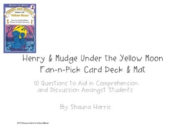 Henry & Mudge Under the Yellow Moon Fan and Pick Cards