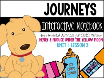 Henry & Mudge Under the Yellow Moon- Journeys Print & Go with Interactive Pages