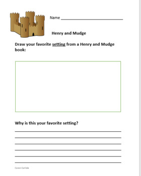 Henry & Mudge and the Forever Sea - Question & Answer Sheets