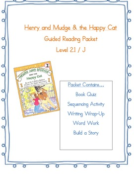 Henry & Mudge and the Happy Cat Reading Packet