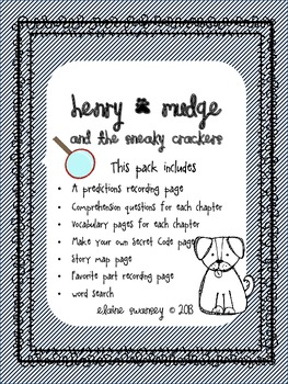 Henry & Mudge and the Sneaky Crackers