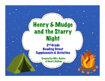 Henry & Mudge and the Starry Night: 2nd Grade Supplements & Activities