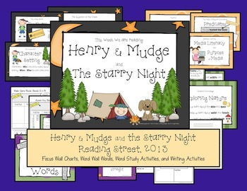 Henry & Mudge and the Starry Night - Reading Street, 2013, 2nd Grade