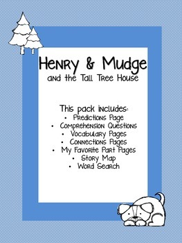 Henry & Mudge and the Tall Treehouse