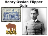 Henry Ossian Flipper Story (Buffalo Soldier) and Quiz