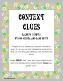 Henry P. Baloney (Context Clues Activity)