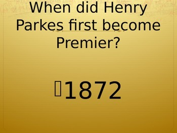 Henry Parkes PPT