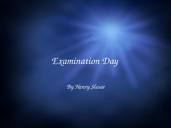 "Henry Slesar's ""Examination Day"" Guided Reading PowerPoint"