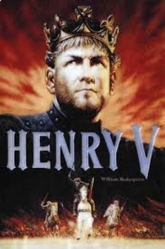 Henry V by Shakespeare Act I  Answering Questions with a Quote Open Book Quiz